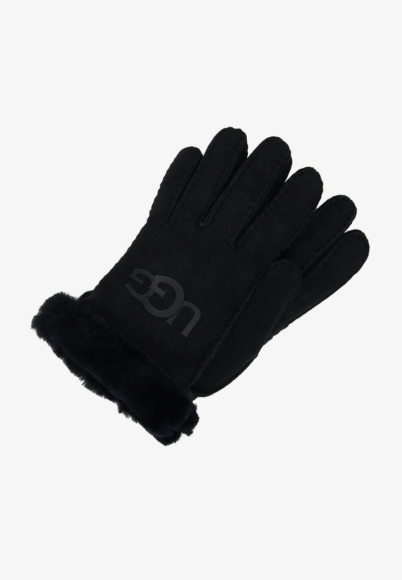 UGG - LOGO GLOVE - Gloves - black