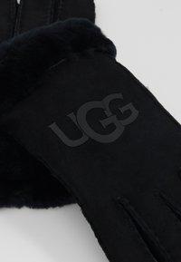 UGG - LOGO GLOVE - Guantes - black - 3