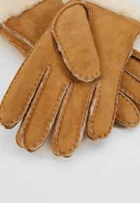 UGG - SHORTY GLOVE TRIM - Handsker - chestnut