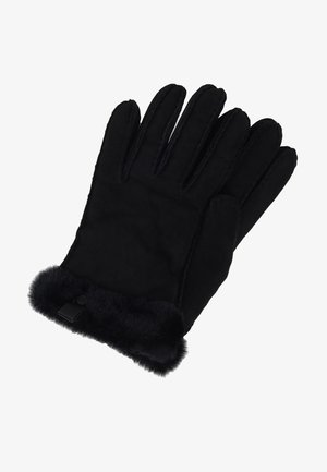 SHORTY GLOVE TRIM - Gloves - black