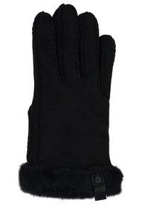 UGG - SHORTY GLOVE TRIM - Gloves - black - 1