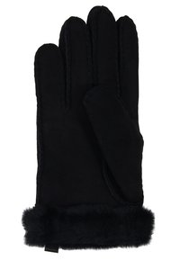 UGG - SHORTY GLOVE TRIM - Gloves - black - 2