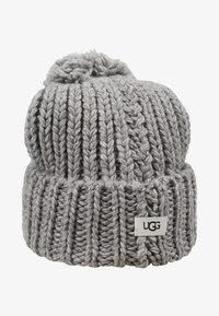 UGG - CHUNKY WIDE CUFF BEANIE - Mütze - light grey - 3