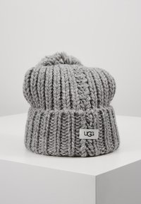 UGG - CHUNKY WIDE CUFF BEANIE - Mütze - light grey - 0