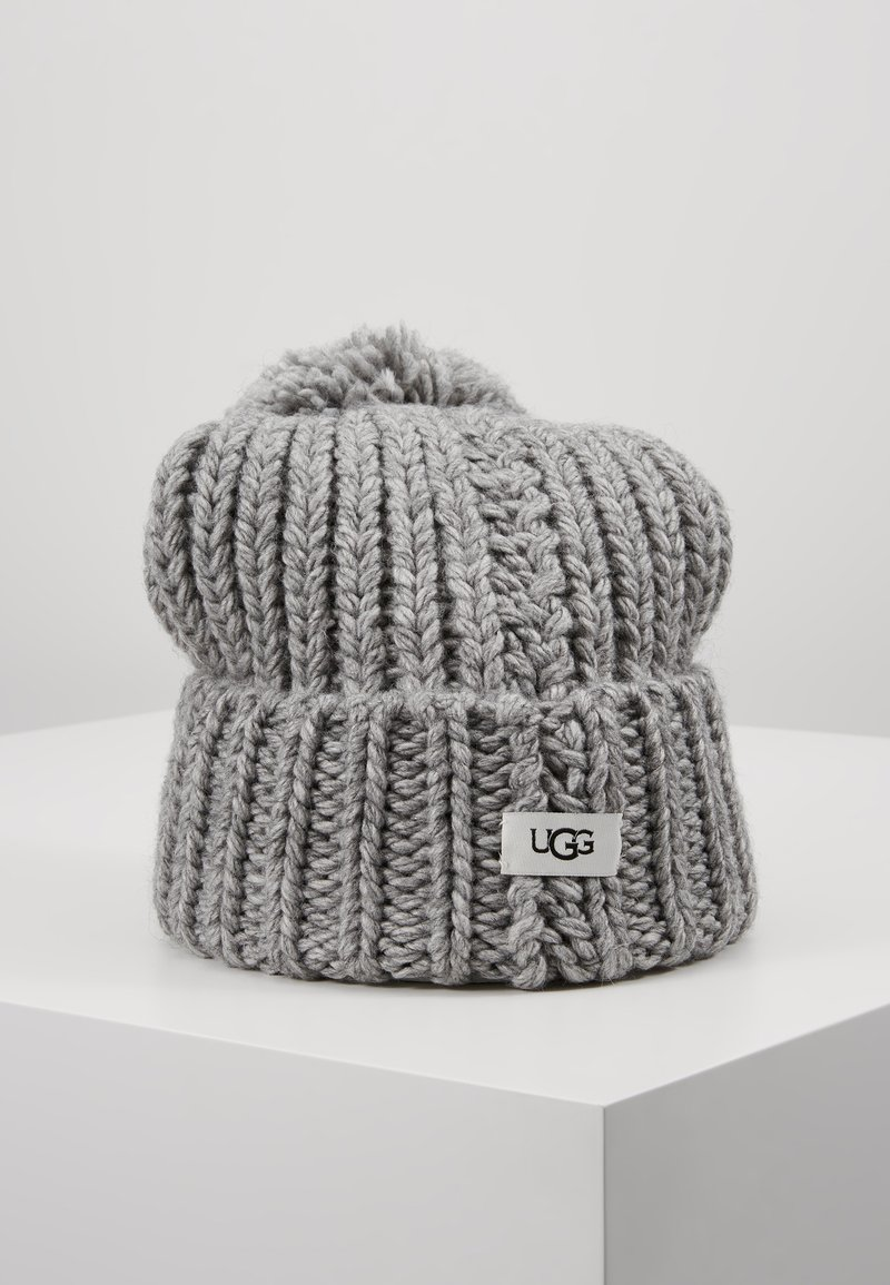 UGG - CHUNKY WIDE CUFF BEANIE - Mütze - light grey