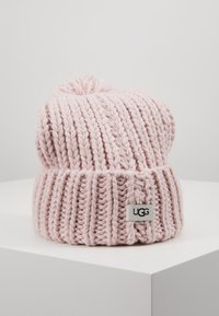 UGG - CHUNKY WIDE CUFF BEANIE - Beanie - pink crystal - 0
