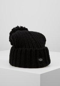 UGG - CHUNKY WIDE CUFF BEANIE - Beanie - black - 0