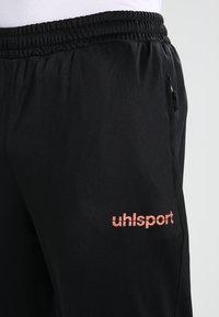 Uhlsport - ESSENTIAL CLASSIC - Tracksuit - schwarz/fluorescent orange - 7