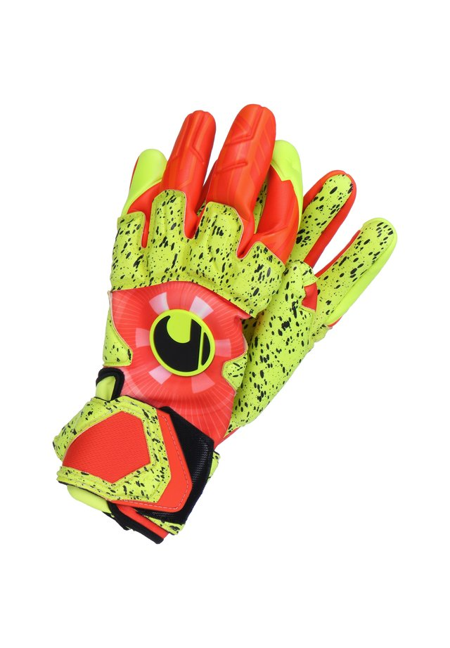 DYNAMIC IMPULSE SUPERGRIP REFLEX TORWARTHANDSCHUH HERREN - Goalkeeping gloves - orange