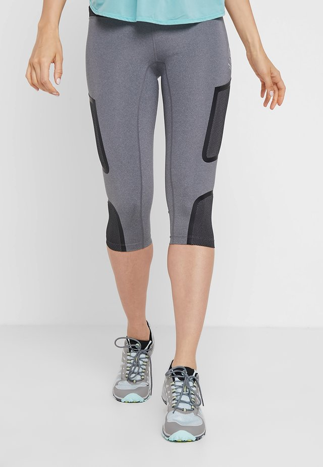 HYDRO - 3/4 sports trousers - heather gray