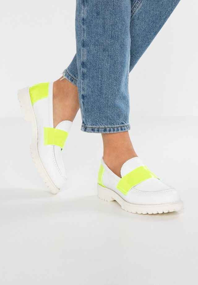 Loafers - bianco