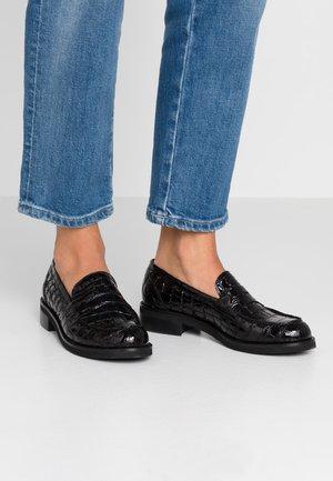 Nazouvací boty - nero