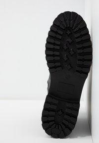 UMA PARKER - Šněrovací kotníkové boty - foulard nero - 6