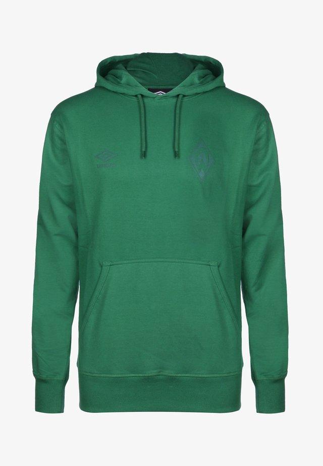 Hoodie - verdant green