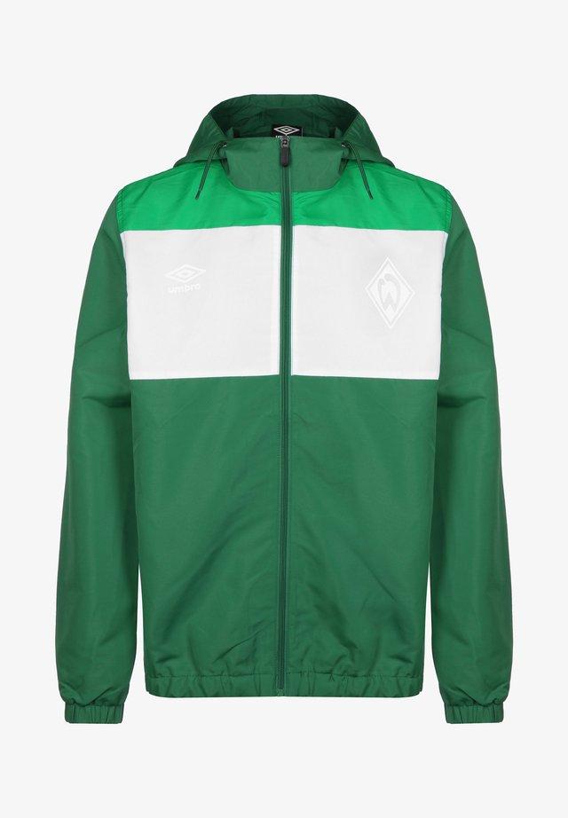 SV WERDER BREMEN  - Training jacket - verdant green / white / golf green