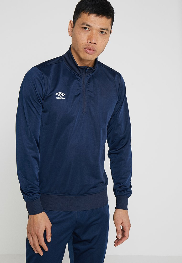 Umbro - HALF ZIP  - Sweatshirt - dark navy