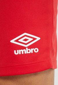 Umbro - CLUB SHORT - Sportovní kraťasy - vermillion - 5