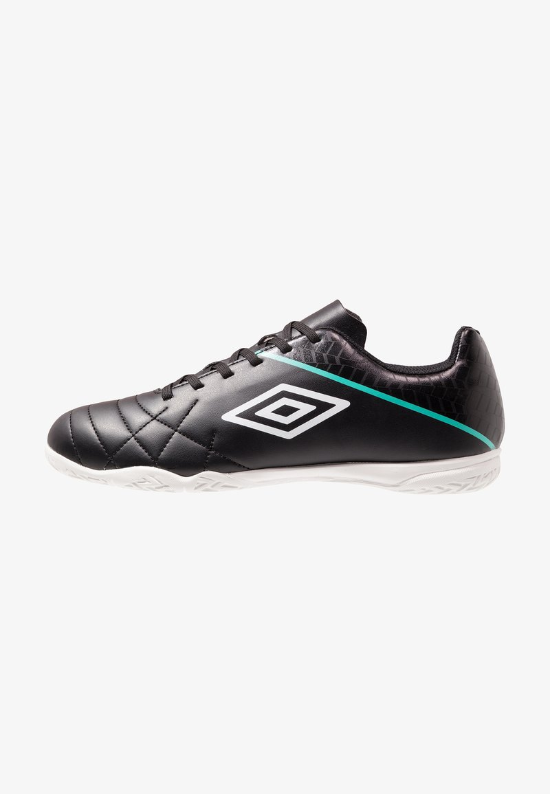 Umbro - MEDUSÆ III LEAGUE IC - Fußballschuh Halle - black/white/marine green