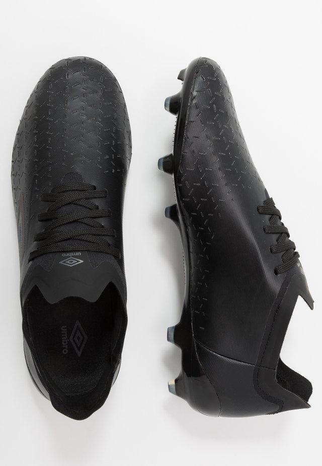 VELOCITA PRO FG - Moulded stud football boots - black