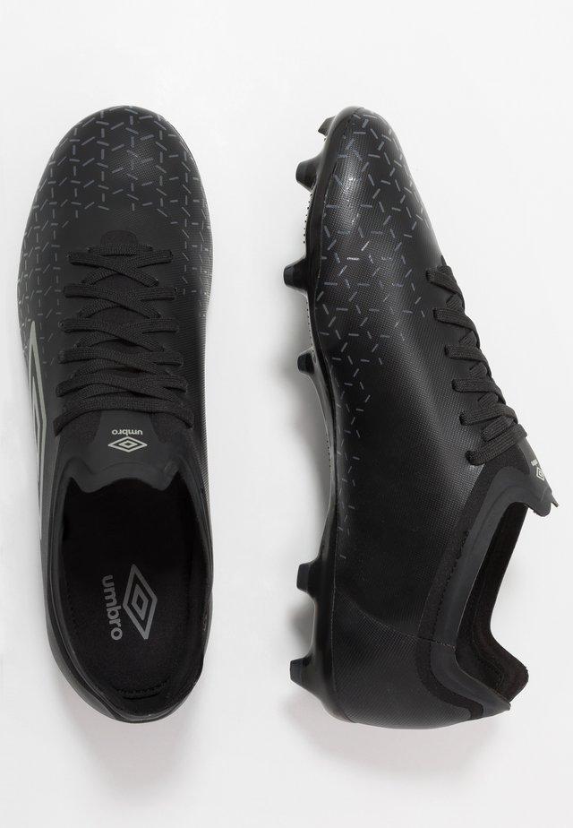 VELOCITA V PREMIER FG - Moulded stud football boots - black/carbon