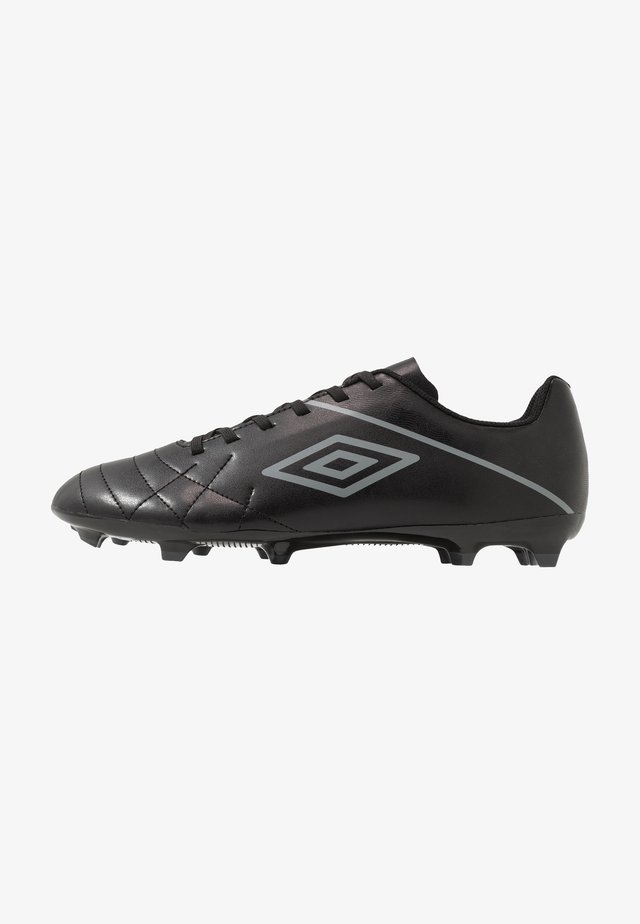 MEDUSÆ III LEAGUE FG - Moulded stud football boots - black/carbon