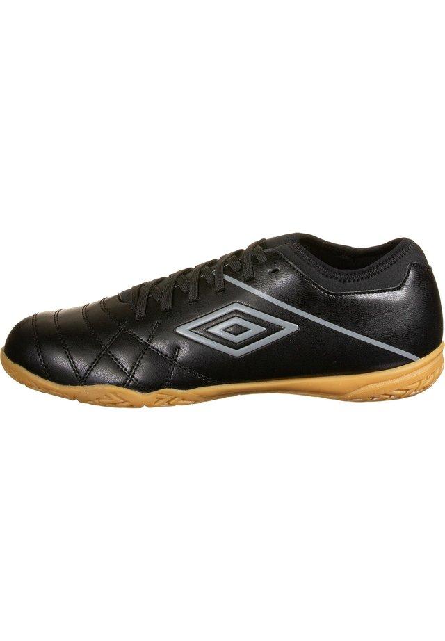 MEDUSAE III CLUB INDOOR - Fußballschuh Multinocken - black/carbon