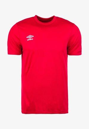 Jednoduché triko - red