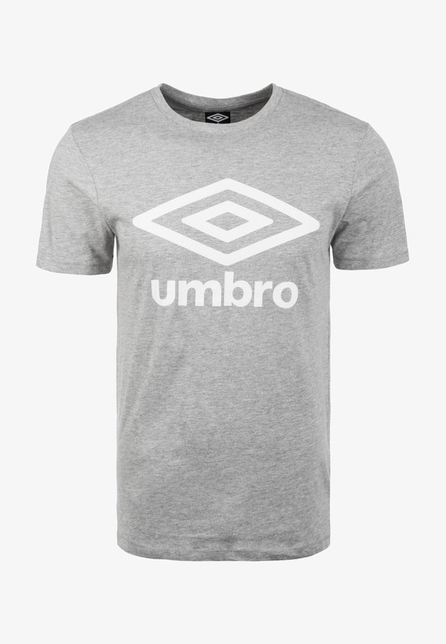 LARGE LOGO TEE - T-shirts print - grey marl