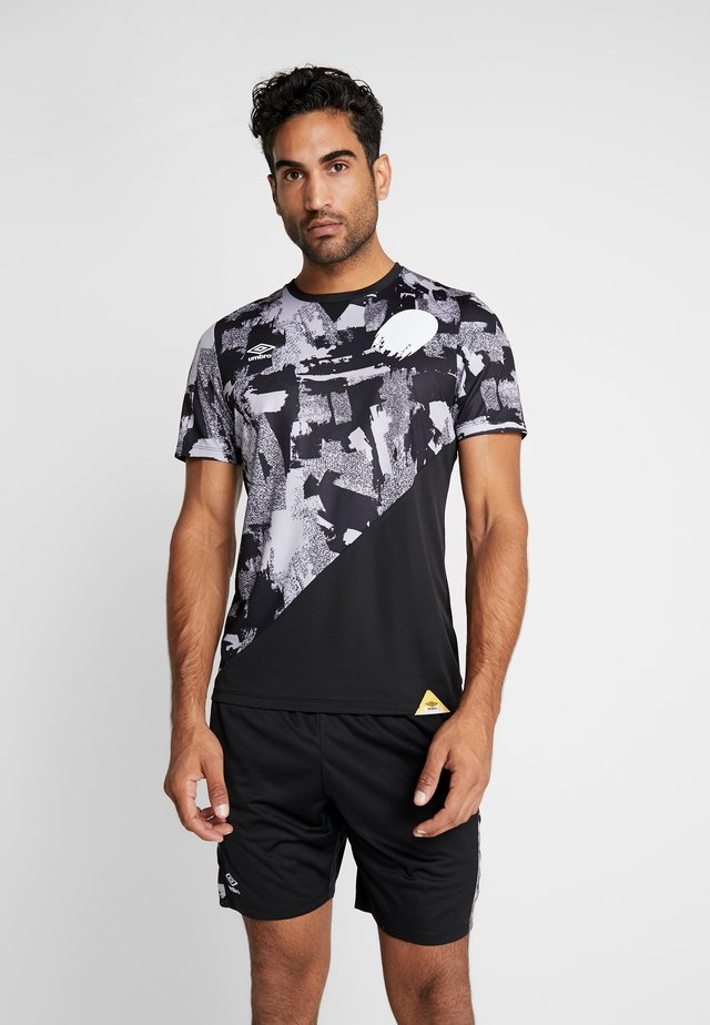 GAME CAMO - Print T-shirt - black/micro chip
