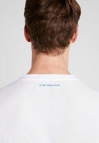 Umbro - FC SCHALKE 04 AWAY - Fanartikel - brilliant white/gray dawn/blueprint/arcadia - 3