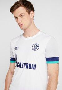 Umbro - FC SCHALKE 04 AWAY - Fanartikel - brilliant white/gray dawn/blueprint/arcadia - 5