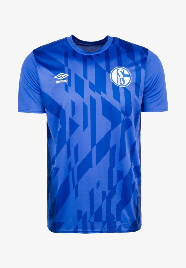 FC SCHALKE 04 WARM UP  - Club wear - dazzling blue