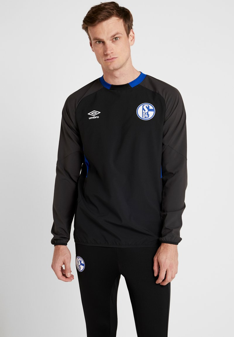 Umbro - FC SCHALKE 04 DRILL - Pelipaita - black/phantom/deep surf