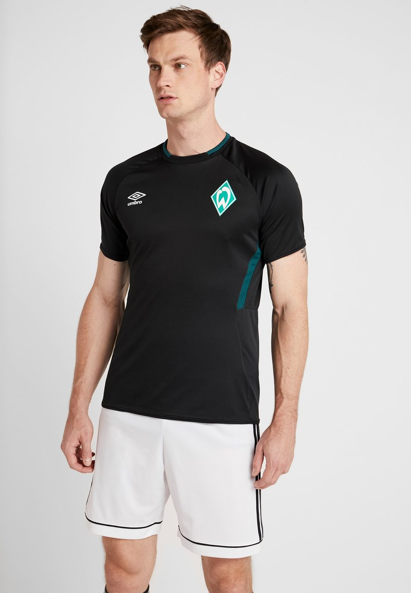 Umbro - WERDER BREMEN TRAINING  - Pelipaita - black/june bug