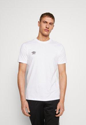 SMALL LOGO TEE - T-shirt basic - brilliant white