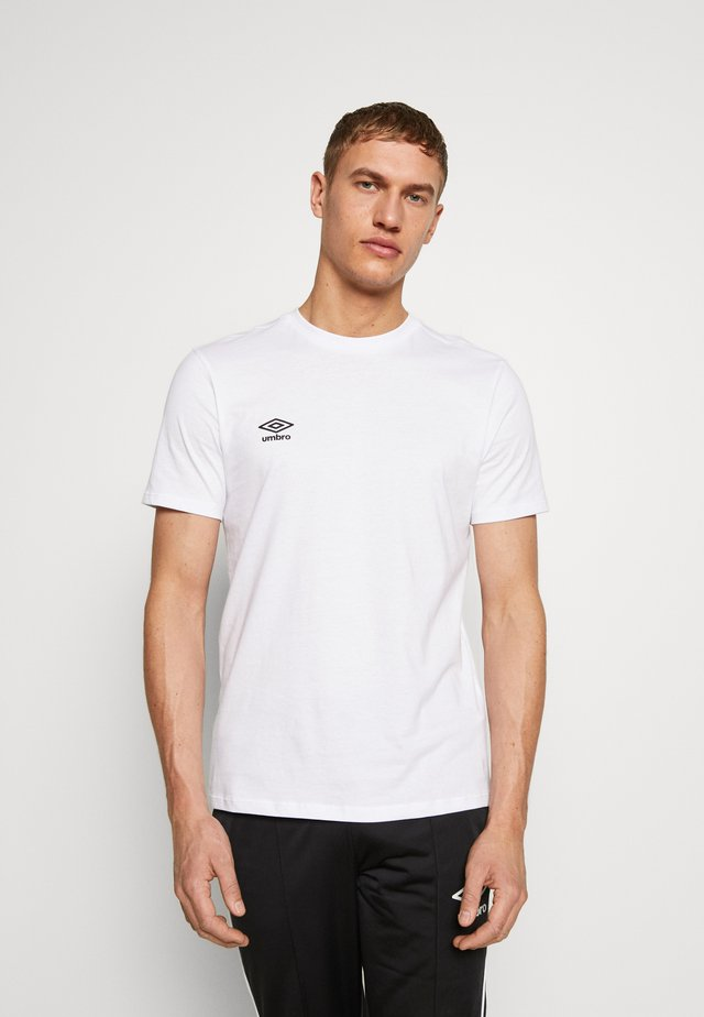 SMALL LOGO TEE - Basic T-shirt - brilliant white