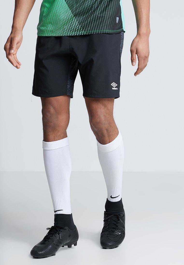 Umbro - SILO TRAINING SHORT - Pantalón corto de deporte - black marl