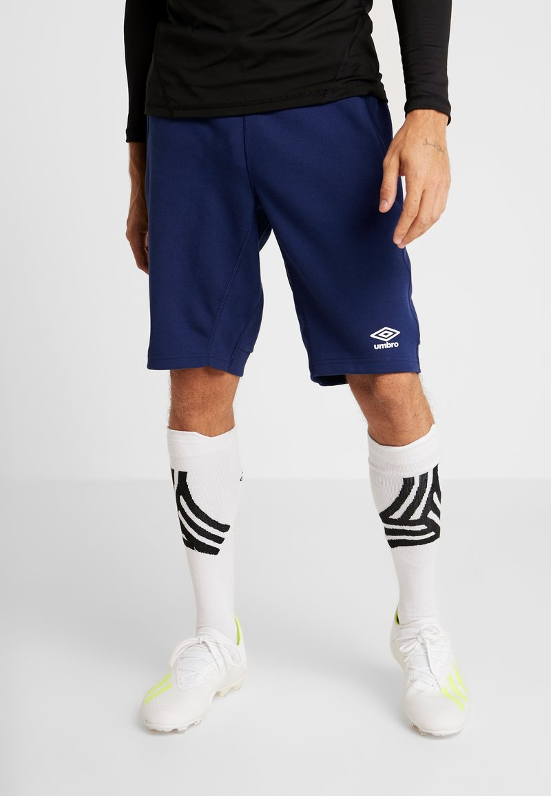 Umbro - FC SCHALKE 04 PRO  - Sports shorts - medieval blue/evening blue