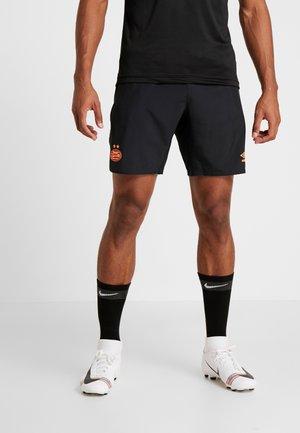 PSV EINDHOVEN TRAINING SHORT - Pantalón corto de deporte - black/shocking orange