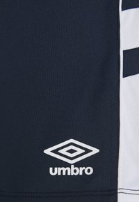 Umbro - PANEL SHORT - Sports shorts - dark navy/brilliant white - 2
