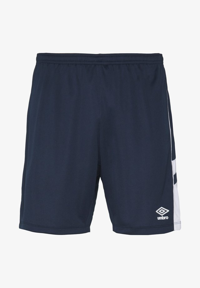 PANEL SHORT - Träningsshorts - dark navy/brilliant white