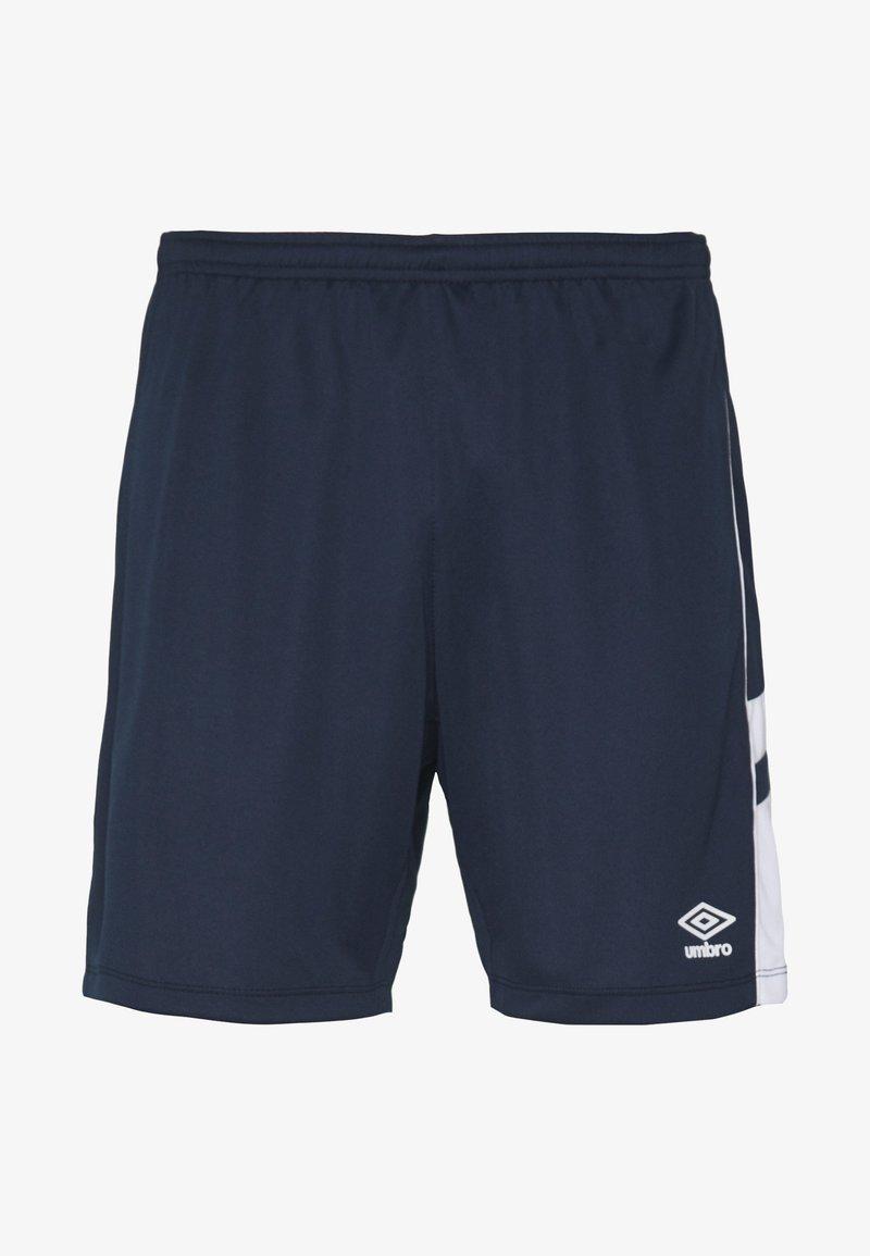 Umbro - PANEL SHORT - Sports shorts - dark navy/brilliant white