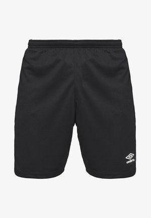 PANEL SHORT - Sports shorts - black/brilliant white