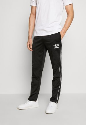 DIAMOND TRACK PANT - Joggebukse - black/brilliant white