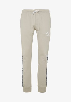 TAPED JOGGER - Spodnie treningowe - silver cloud