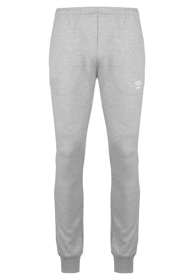 Pantalon de survêtement - grey marl/brilliant white