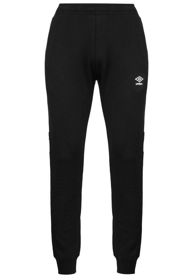 Pantalon de survêtement - black/brilliant white