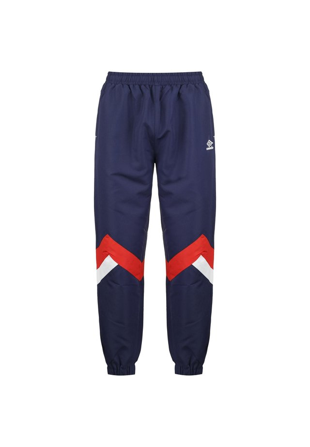 Tracksuit bottoms - ink / rio red / bright white