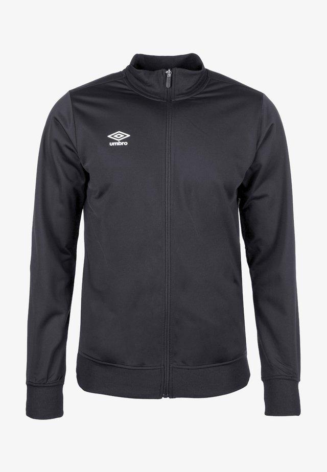 POLY - Training jacket - black