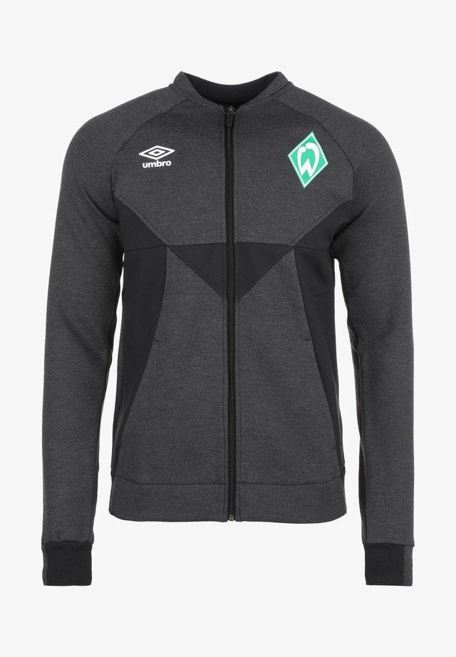 SV WERDER BREMEN PRÄSENTATIONSJACKE HERREN - Training jacket - black marl / black